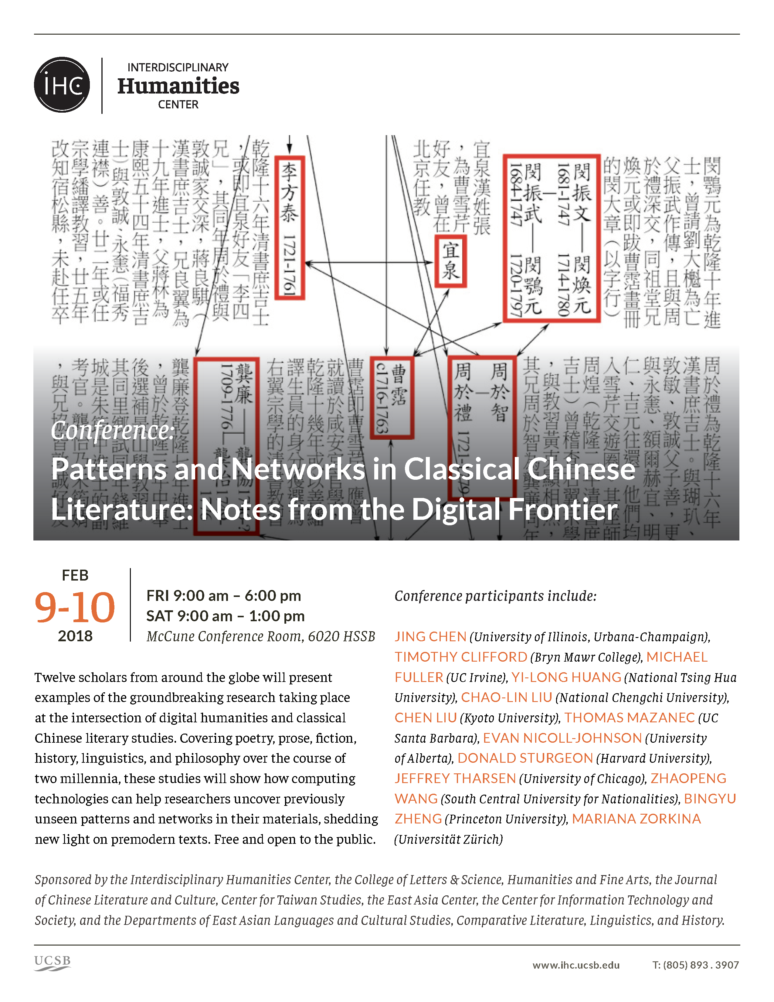 Patterns and Networks in Classical Chinese Literature: Notes from the Digital Frontier